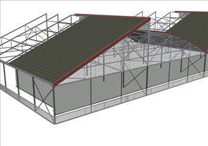 Serra fotovoltaica ibrida